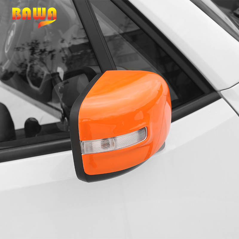 BAWA Car Stickers for Jeep Renegade 2016 2017 Rearview Mirror Cover for Jeep Renegade Accessories in Car Stickers from Automobiles Motorcycles