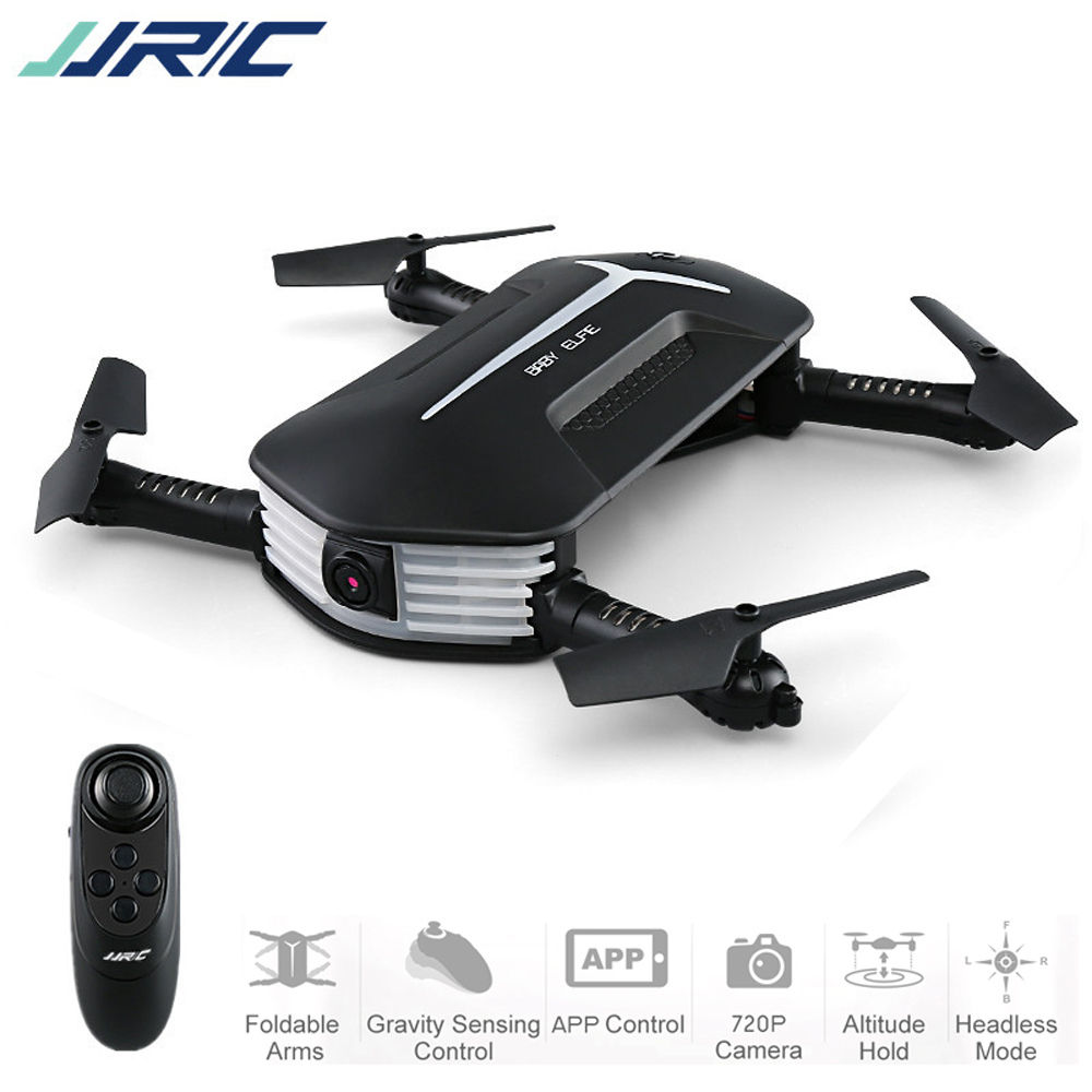 JJR/C JJRC H37MINI маленьких ELFIE 720 P WI-FI FPV Камера w/высота Удержание 3D прокатки RC Quadcopter Карманный складной Портативный беспилотный RTF