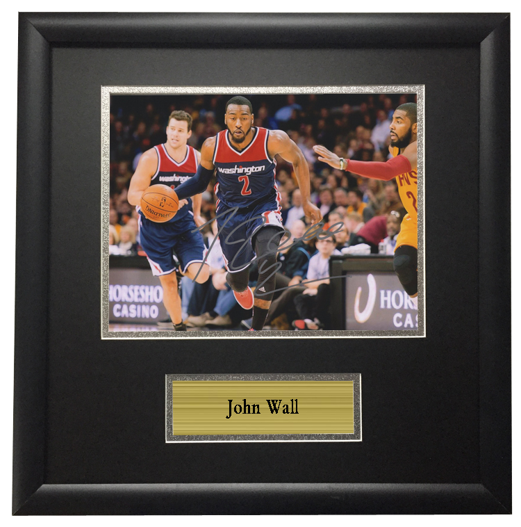 sports shoes c27cc 1a0c1 US $212.8 |Memorabilia come with SA COA John Wall from Washington Wizards  autographed signed Photo Framed-in Frame from Home & Garden on ...