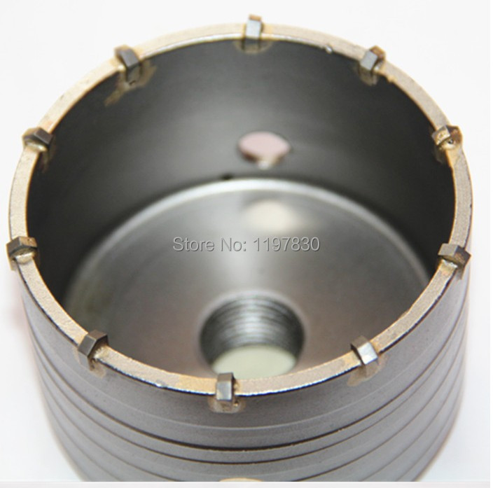 Free shipping 1PC carbide tipped wall hole saw 115 72 M22 strengthened electric Hammer hole saw