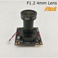 별빛 달리/CVI/TVI/CVBS 4in1 함께 UTC 동축 OSD 제어 1080 마력 모듈 보드 사용 소니 IMX291 센서 F1.2 4 미리메터 또는 6 미리메터 렌즈