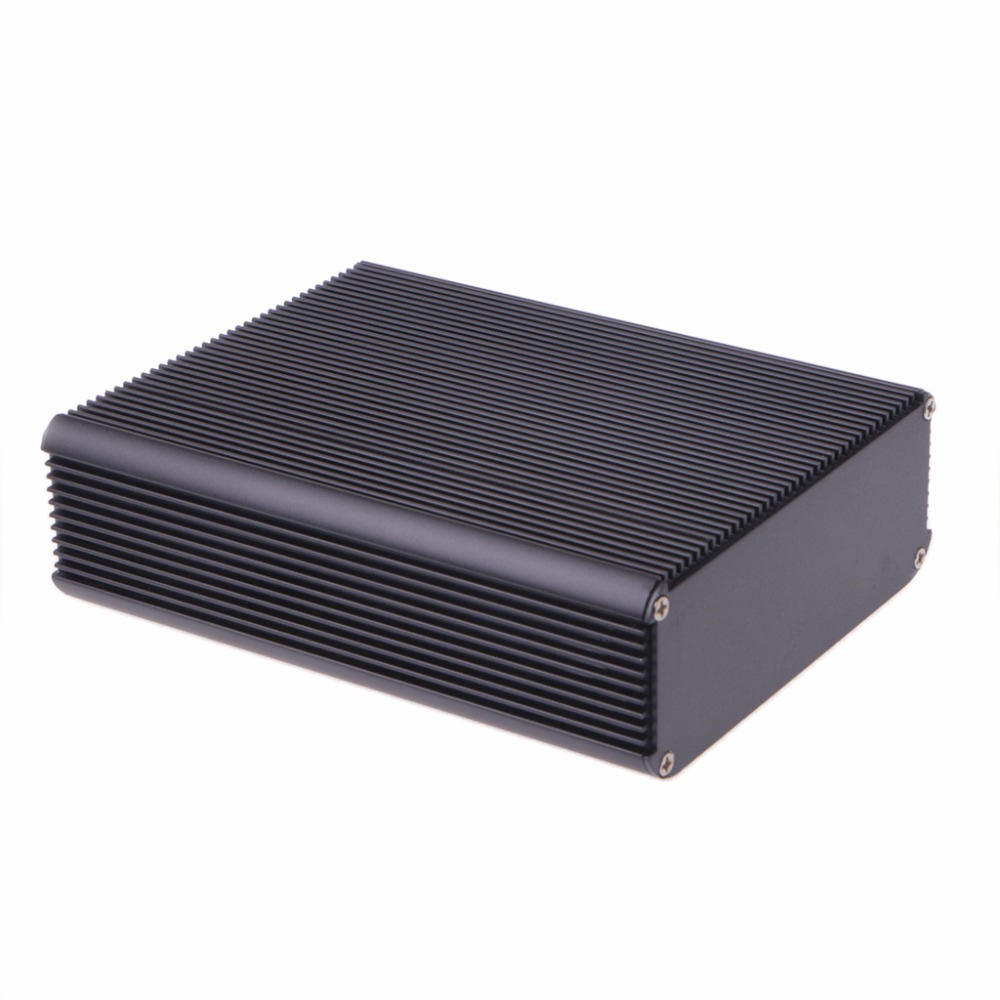 DIY Aluminum Case Electronic Project PCB Instrument Box 150x120x45mm Junction Box aluminum electrolytic capacitor for diy project 120 piece pack
