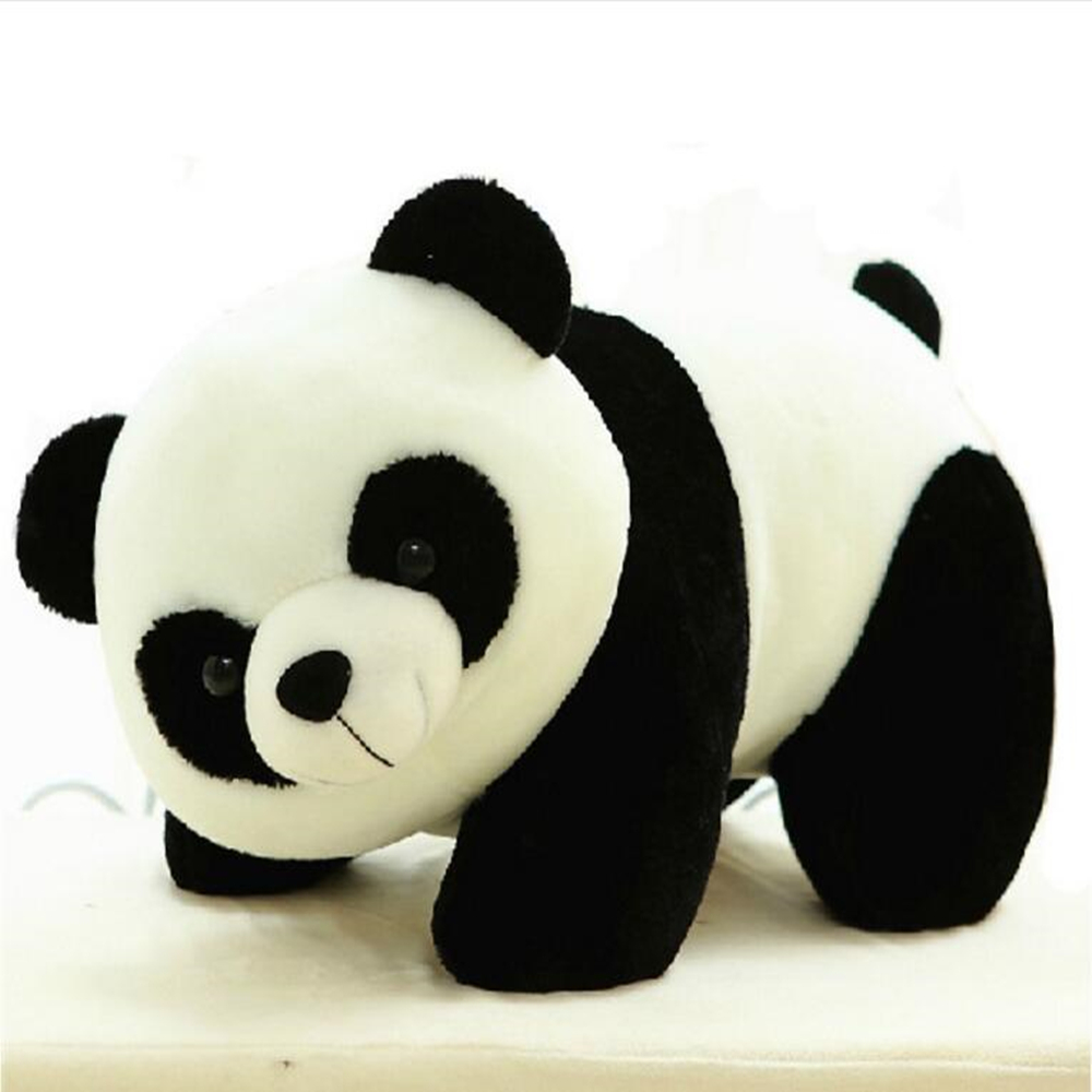 2016 newest design high quality animal doll panda plush toys 20cm lovely soft toy for baby child