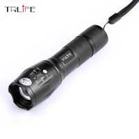 Promotions Ultrafire E17 2000 Lumens 5 Mode CREE XM L T6 LED Flashlight Zoomable Focus Torch