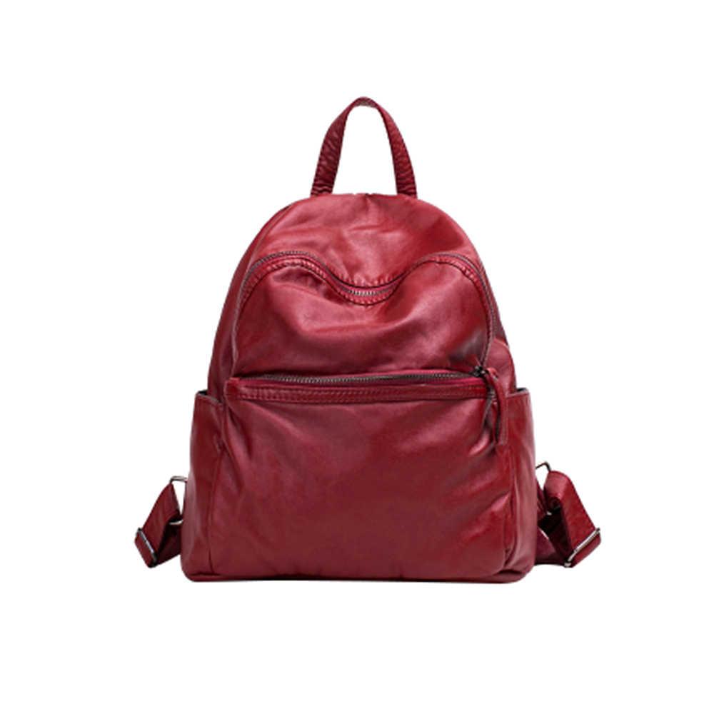 79ce6889fdd6 Повседневное Рюкзак Женский Краткое Дизайн Мягкие из искусственной кожи ...