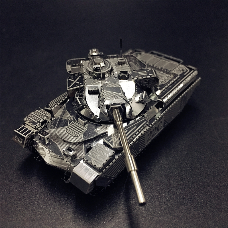 MMZ MODEL NANYUAN 3D Metal model kit JS-2 tank Chieftain MK50 Tank Assembly Model DIY 3D Laser Cut Model puzzle toys for adult недорго, оригинальная цена