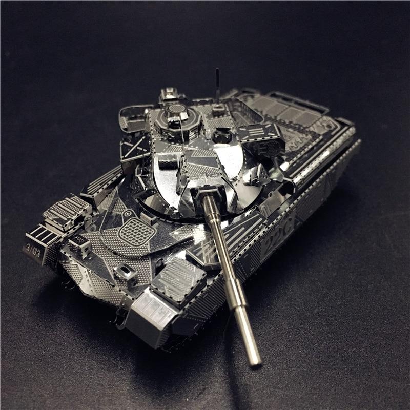 MMZ MODEL NANYUAN 3D Metal Model Kit JS-2 Tank Chieftain MK50 Tank Assembly Model DIY 3D Laser Cut Model Puzzle Toys For Adult
