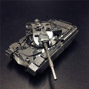 MMZ MODEL NANYUAN 3D Metal model kit JS-2 tank Chieftain MK50 Tank Assembly Model DIY 3D Laser Cut Model puzzle toys for adult(China)