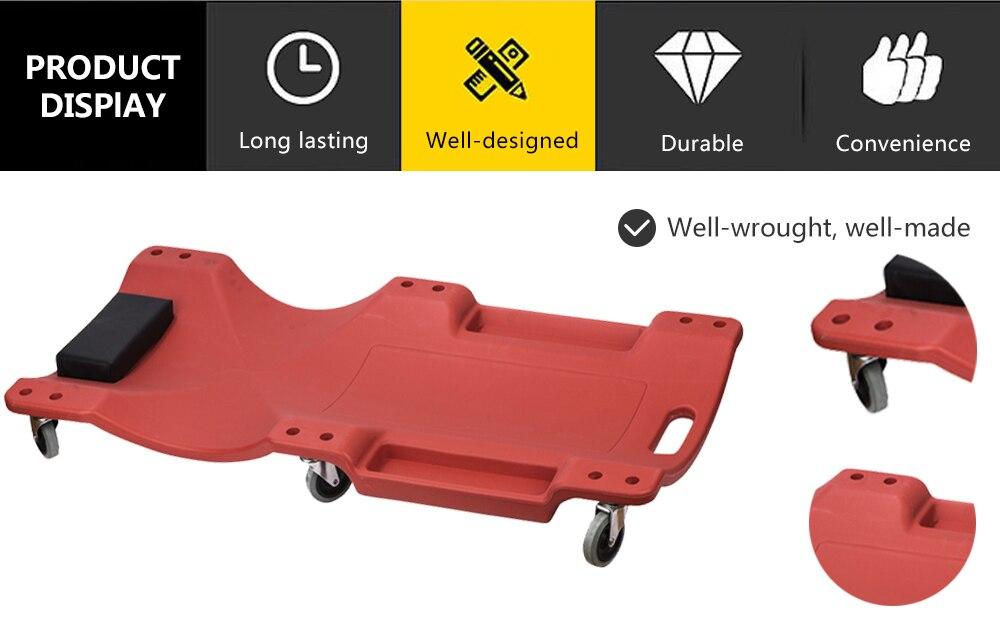 1 шт. 36 дюймов щелевая Лежащая доска для ремонта автомобиля ремонт автомобиля Лежащая пластина Авто Ремонт Лежащая доска скейтборд Спящая доска