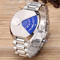 Men Watches Luxury Brand Sport Quartz 50M Waterproof Watch Men's Stainless Steel Quartz Watch Wristwatch Relojes Hombre 2018
