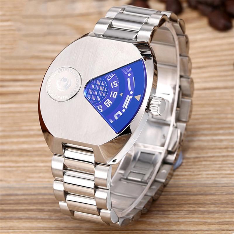 Men Watches Luxury Brand Sport Quartz 50M waterproof Watch Men's Stainless Steel Quartz-watch Wristwatch relojes hombre 2017
