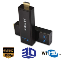 60GHz WIHD 100ft Wireless HDMI Transmitter Receiver HDMI Wireless Video Transmission Kit 1080P HDMI Extender for tv/projector