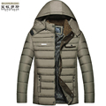 T china cheap wholesale Good quality brand 2016 autumn winter new men fashion thickening keep warm cotton-padded jacket