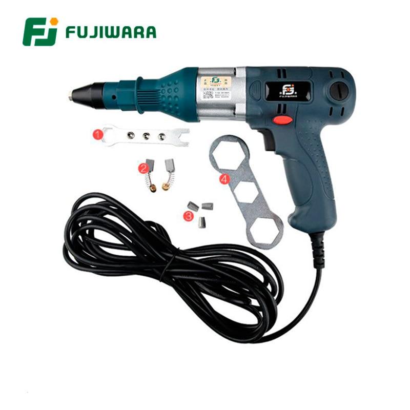 FUJIWARA B Rivet Gun Industry Grade Eelectric Riveter Core Rivet gun Riveting Tool Nail Gun цена 2017