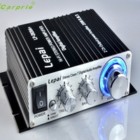 12V 3A Mini Hi Fi Stereo Amplifier Amp Mp3 For IPod Motorcycle And Car Adapter