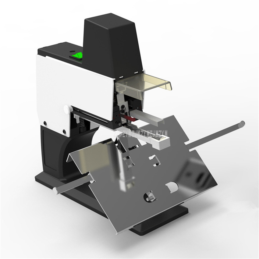 Bureau Électrique Plat/Selle Agrafeuse Machine 30/40 Feuilles Papier Machine À Relier ST-105 220 V 23/6 23/8 24/6 24/8 Agrafes liant