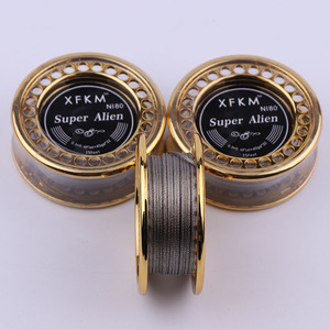 Image 2 - XFKM 5m/roll NI80 Super Alien fused Clapton for RDA RBA Rebuildable Atomizer Heating Wires Coil Tool Alien Clapton Heating Wire