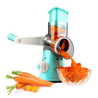 Vegetable Cutter Slicer Grinder Round Mandoline Potato Carrot Shredder kitchen Accessories Multi function Vegetable Tools