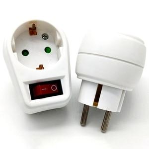 Image 5 - Schaltbare Steckdosen Mit Schalter Steckdosenschalter Stecker Steckerschalter