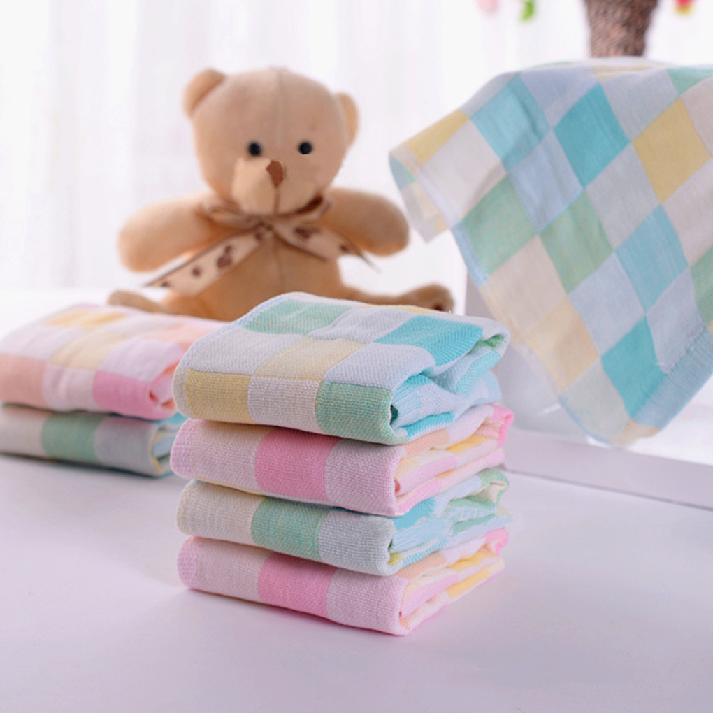 28*28cm Baby Towel fashion superfine fiber Kid Bath Towels Washcloth Square Towel Children Kitchen Bathroom Wipe Wash Cloth