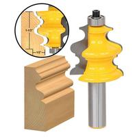 1 2inch Shank Architectural Cemented Carbide Molding Router Bit Trimming Wood Milling Cutter For Woodwork Cutter