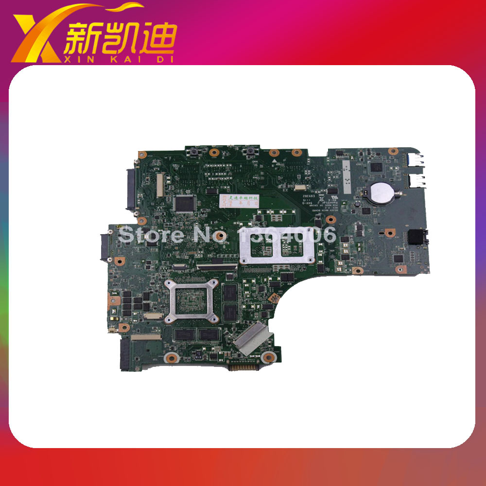 For ASUS N53SV N53SM N53SN Original laptop motherboard (mainboard) nvidia GT540M and 2 RAM slots Rev 2.2 1GB tested well original new for asus n43sl laptop motherboard rev 2 0 ddr3 hm65 gt540m 1g n12p gt a1 mainboard