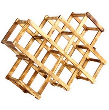 Classical Wooden fashion wine bottle holder wrought iron wall hanging wine rack bar wine glass holder