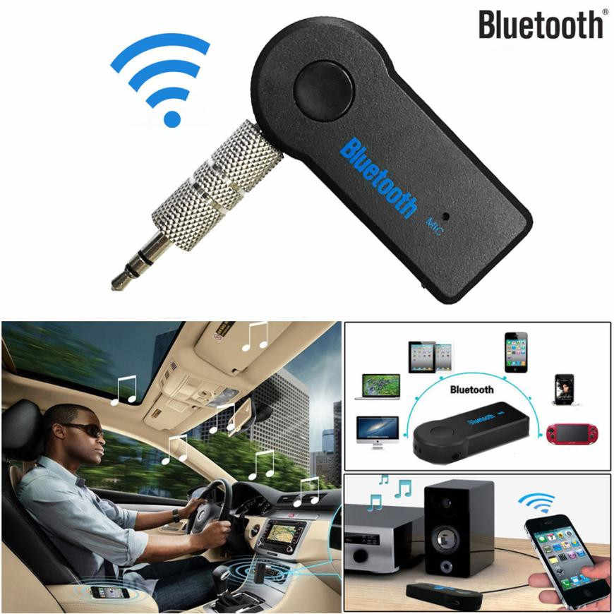 MINI 3.5 Mm Jack Aux Audio MP3 Musik Bluetooth Receiver Mobil Kit Wireless Handsfree Speaker Headphone Adapter untuk iPhone