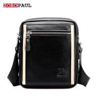 ZOROPAUL 2017 Fashion Business Leather Men S Messenger Vintage Shoulder Bags High Quality Designer Handbags Crossbody