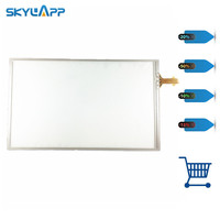 Skylarpu 6 inch Touch Screen glass Digitizer resistance for TomTom VIA 1605TM 1605M 620 GPS touchscreen Replacement With glue