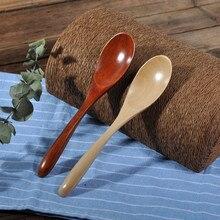16,3*3,5 см деревянная Ложка Вилка бамбуковая кухонная посуда инструменты суп-чайная ложка посуда бар кухонные аксессуары