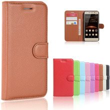 Coque Huawei Y5 II Case Silicon Luxury Leather Flip Case For Huawei Y5 II / Y5II 2 5.0 inch Protective Phone Back Cover Skin Bag