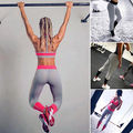 Fashion Womens High Waist Workout Stretch Fitness Leggings Long Elastic Splice Pants