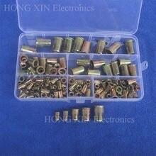 120 шт/компл m4 m5 m6 m8 m10 покрытые цинком накатанные гайки