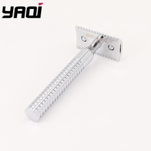 Yaqi High Quality Chrome Color Light Safety Razor For Wet Shaving цена