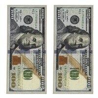 Креативный нескользящий коврик Современный домашний декоративный ковер бегун доллар Печатный ковер сто доллар 100 Bill Print