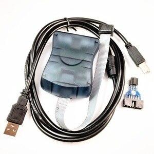 Image 1 - Atmel AT AVRISP mkII XP2 AVR ISP mk2 USB AVRISP In System Programcı Destekler AVR Studio 4 & 5 & 6 & 7