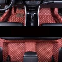 Auto car carpet foot floor mats For skoda superb 3 octavia a5 2 rs karoq fabia 1 3 octaviars a7 yeti rapid 2017 car mats