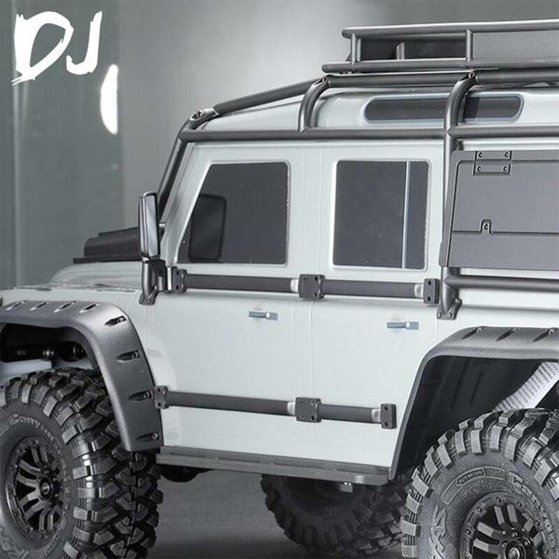 2PCS DC-DJ RC 1:10 Side Guard Belt For TRAXXAS TRX4 Defender Crawler Car DJC-9004