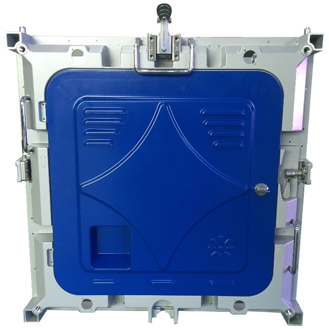 P6 rvb polychrome 576*576mm intérieur moulage sous pression en aluminium armoire publicité médias mur vidéo led signe LED écran daffichage