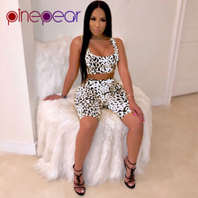 ae9305b370f PinePear Snakeskin Print Sleeveless Crop Top and Shorts 2 Piece Set  Sweatsuits for Women 2019 Trendy