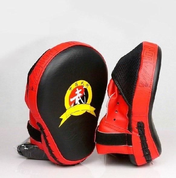 1 pair Durable fitness fighting training boxing Focus punching pad mitt target Muaythai muay thaiboxing