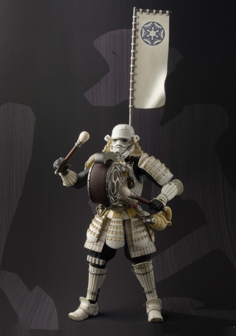 Star Wars Movie Realization Taikoyaku Stormtrooper Action Figure PVC toys game figure Collection Model Toy for Anime Lover N129 playarts kai star wars stormtrooper pvc action figure collectible model toy