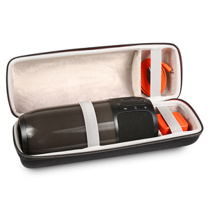 Image 2 - Yeni EVA PU Taşıma Koruyucu Hoparlör Kutusu Kılıfı Kapak Çanta Kılıf JBL Darbe 3 Pulse3 bluetooth hoparlör Ekstra Alan fiş ve Kablo