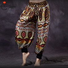 Bellydance American Tribal Style Belly Dance Colored Trousers Women Bloomers Chic Gypsy ATS Harem Pants Unisex