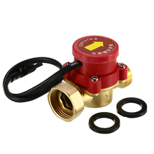 1 шт. практичный датчик расхода воды AC220V 120 Вт 0.5A разъем с наружной резьбой циркуляционный насос регулятор давления потока воды