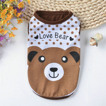 Polyester Dog Vest Spring Pet Clothes