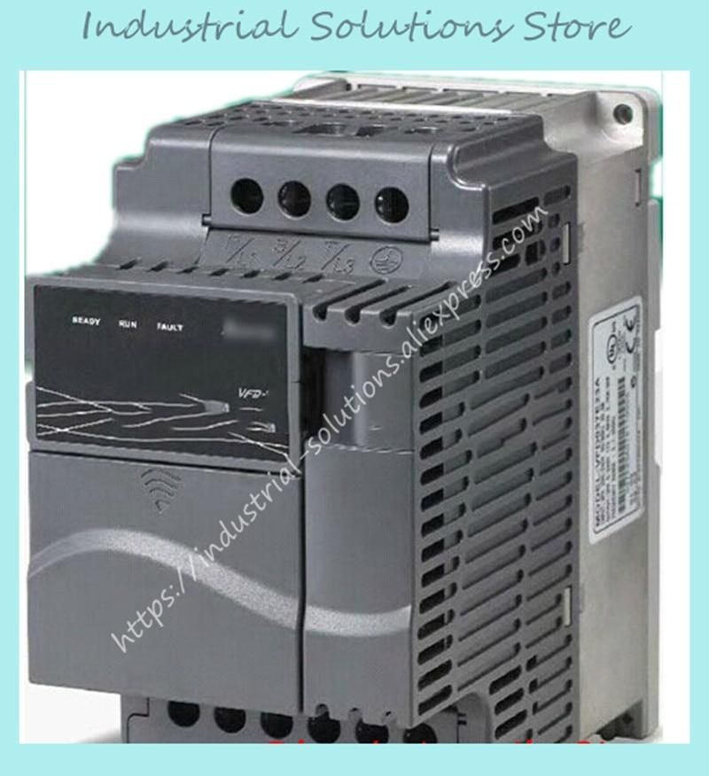 1 Phase 220V To 3 Phase Inverter E-series VFD002E21A 0~240V 1.6A 600Hz 200W 0.25HP 0.2KW New Original 1 phase 220v to 3 phase delta inverter e series vfd002e21a 0 240v 1 6a 600hz 200w 0 25hp 0 2kw new original