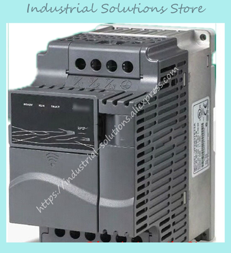 1 fase 220 V A 3 Fasi Inverter E-series VFD002E21A 0 ~ 240 V 1.6A 600Hz 200 W 0.25HP 0.2KW Nuovo Originale1 fase 220 V A 3 Fasi Inverter E-series VFD002E21A 0 ~ 240 V 1.6A 600Hz 200 W 0.25HP 0.2KW Nuovo Originale