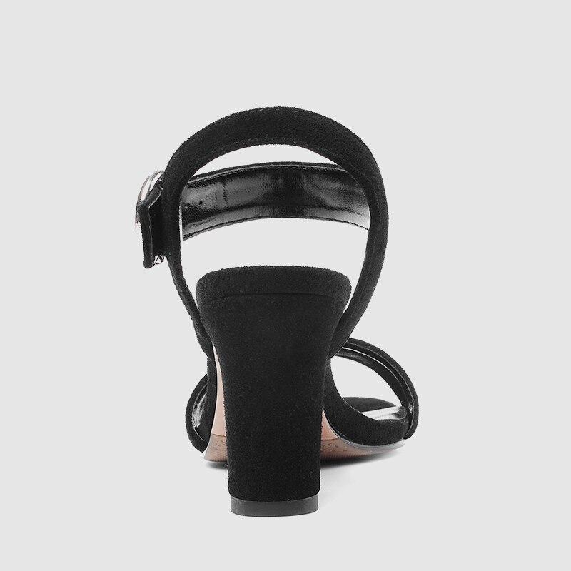 Grandi Il Estate Colore Scarpe Genuino Lapolaka Del Sandali 2019 Elegante Nero Dimensioni Di Tacchi colore Da Cuoio Rosso Delle Alta Commercio Nuovo Donne 33 All'ingrosso Donna Vino 43 Dei 6qYqwS